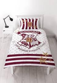 Single Bed Duvet Harry Potter U0027muggles U0027 Reversible Panel Single Bed Duvet Quilt