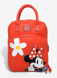 loungefly minnie mouse retro mini backpack boxlunch