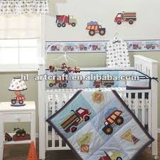 Truck Crib Bedding Truck Applique Cotton Baby Boy Crib Bedding Set Buy Baby Boy
