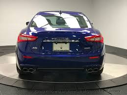maserati chrome blue 2017 new maserati ghibli s q4 3 0l at maserati of central new