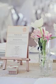 diy wedding menu cards wedding details creative menu ideas
