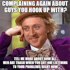 Hook Me Up Meme - creepy condescending wonka meme imgflip