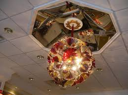 Glass Blown Chandeliers by Decor U0026 Tips Drop Ceiling With Ceiling Design And Blown Glass