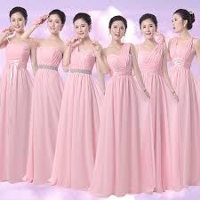 cheap pink bridesmaid dresses aliexpress buy blush pink bridesmaid formal dress