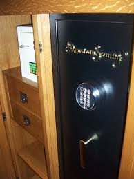 Safe Cabinet Custom Made Mission Style Gun Safe Cabinet By Cibolo Valley