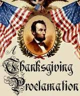 proclamation of thanksgiving day by abraham lincoln new