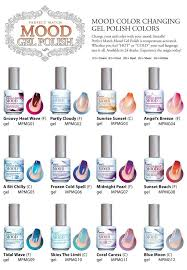 perfect match colors lechat perfect match mood color changing gel nail polish pick any 6