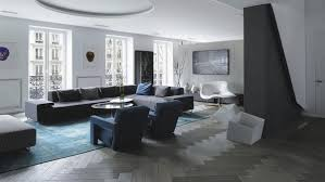 Living Room Interior Color Combinations - grey hardwood floors in interior design and cool color combinations