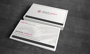 cosmetic make up business card template