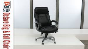 big and tall chairs nbf signature series octave chair national