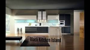 powell kitchen islands black kitchen island fitted kitchen youtube