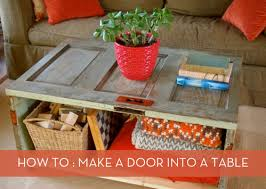 how to make a coffee table out of pallets make it salvaged door coffee table curbly