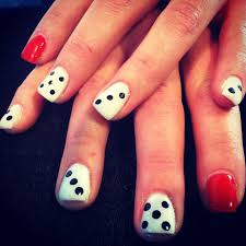 dice fun nail design for a vegas night dice nail pinterest