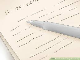 How To Make A Cover Letter For A Resume Examples by How To Get A College Scholarship With Pictures Wikihow