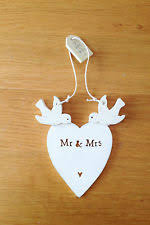 wooden wedding gifts east of india hanging mr mrs decoration wedding gift dove heart