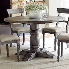 dining tables glamorous round rustic wood dining table farmhouse