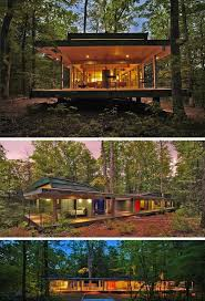Contemporary Modern House 1393 Best Modern Cabin Love Images On Pinterest Architecture