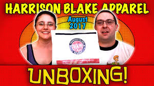 Monthly Clothing Subscription Boxes Unboxing Harrison Blake Apparel August 2017 Monthly Club Men U0027s