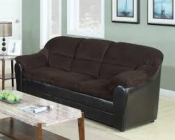 Corduroy Sofa Bed Connell Chocolate Corduroy U0026 Espresso Bycast Sofa Sleeper By Acme