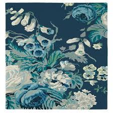 sanderson stapleton park rug admiral blue
