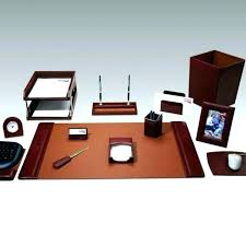 Desk Sets For Office Office Desk Accessories Set Desk Set For Office Chic Executive