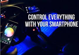 app controlled car lights app controlled car interior led light kit linkomondo