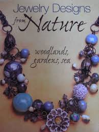 Jewelry Making Book Lovely Jewelry Making Book With Lots Of Nature Inspired Designs