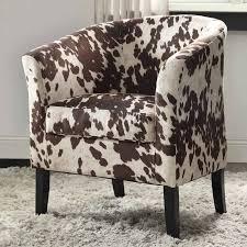 Leopard Print Accent Chair Kimoni Wingback Chair Hayneedle