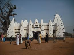 larabanga mosque in gonja land ghana though this is not in the