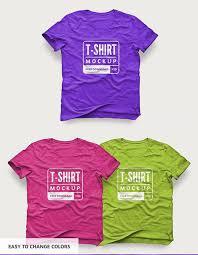 free t shirt design mockup mockup templates for designers