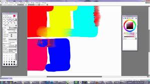 understanding the sliders in easy paint tool sai for blending