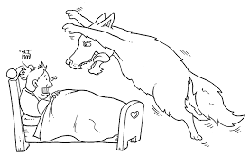 red riding hood coloring pages coloring pages kids