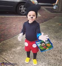 Mouse Halloween Costume Toddler 20 Mickey Mouse Toddler Costume Ideas Mickey