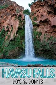 Arizona Travel Advice images Havasu falls do 39 s dont 39 s tips for a successful hike bearfoot jpg