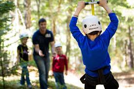 building a zipline absolutely kid stuff pinterest backyard