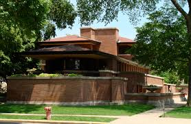 architectures frank lloyd wright house in phoenix at the center