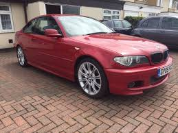bmw 320ci sport coupe facelift manual imola red service