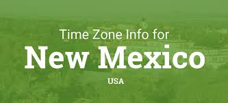 Utc Time Zone Map by Time Zones In New Mexico United States