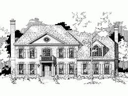 georgian colonial house plans 140 best house plans images on colonial house plans