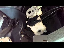 manually adjusting hvac air flow control 2005 ford focus youtube
