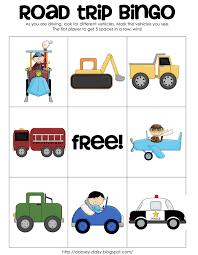 Halloween Bingo Printable Free by Printable Road Trip Bingo