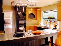 oak kitchen cabinets yellow walls kitchen cabinets pictures options tips ideas hgtv