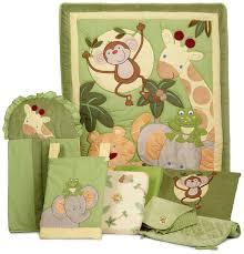 Nojo Crib Bedding Set Nojo Jungle Babies 8 Crib Bedding Set Ideal Baby