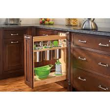 Pull Out Kitchen Cabinet Shelves Rev A Shelf 25 5 In H X 8 In W X 21 625 In D Pull Out Wood Base