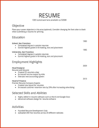 Best Resume Format In World by Simple Resume Format In Word File Free Download Free Resume