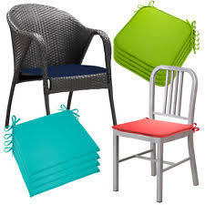 Patio Chair Pads by Outdoor Chair Cushions With Ties Home Design Ideas And Pictures