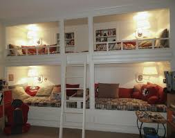 Built In Bunk Bed Wall Home Decor Ideas - In wall bunk beds