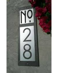 customized plaques with photo shopping sales on modern house numbers customized mid