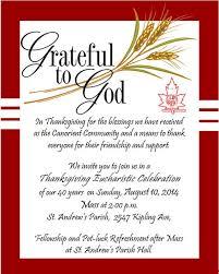 thanksgiving mass august 10th canorient christian association