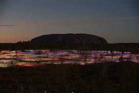the awe inspiring experience of bruce munro u0027s field of light near